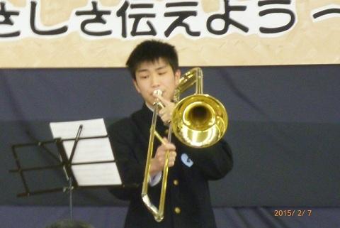 №4畠山君 さわやかな朗読とトロンボーン演奏.jpg
