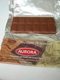 キューバのチョコレート.JPG