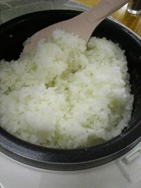 酒米炊けました.jpg